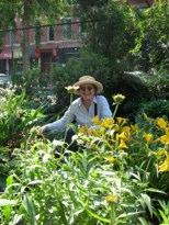 Gardener Janice Pargh